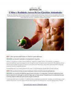 5 mitos comunes y algunos hechos sobre tus abdominales