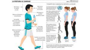 Caminar a paso ligero mantiene su colon saludable