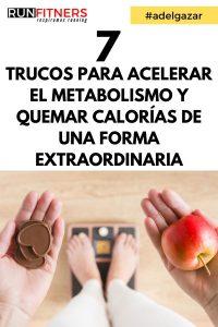 Cómo acelerar su metabolismo y quemar más calorías