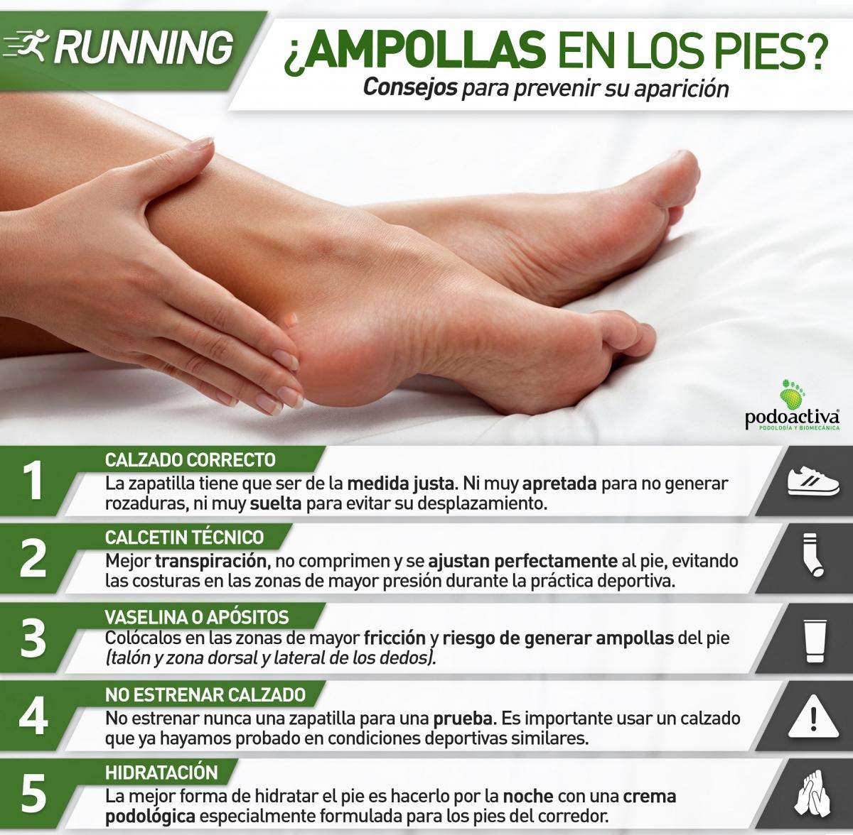 Photo of Cómo prevenir y tratar las ampollas en los pies de los corredores