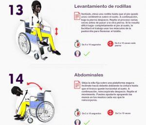 Cómo superar los límites y hacer ejercicio en su silla de ruedas