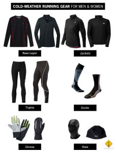 Consejos para comprar ropa y equipo para mantenerte caliente en las carreras de invierno