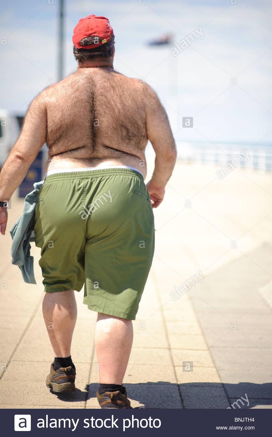 Photo of El Hombre Gordo Caminando Cruza los EE.UU.