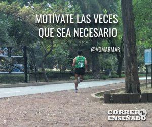 El poder de pensamiento positivo para los corredores