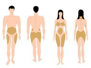 Muchas mujeres almacenan más grasa que los hombres, lo que dificulta la pérdida de peso.