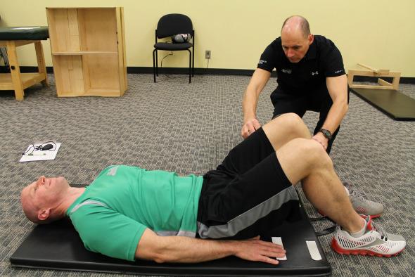 Photo of Prueba de fuerza y estabilidad de los músculos centrales