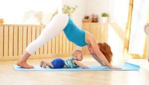 Volver al yoga después del embarazo