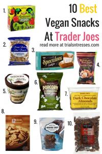 10 productos saludables para comprar en Trader Joes