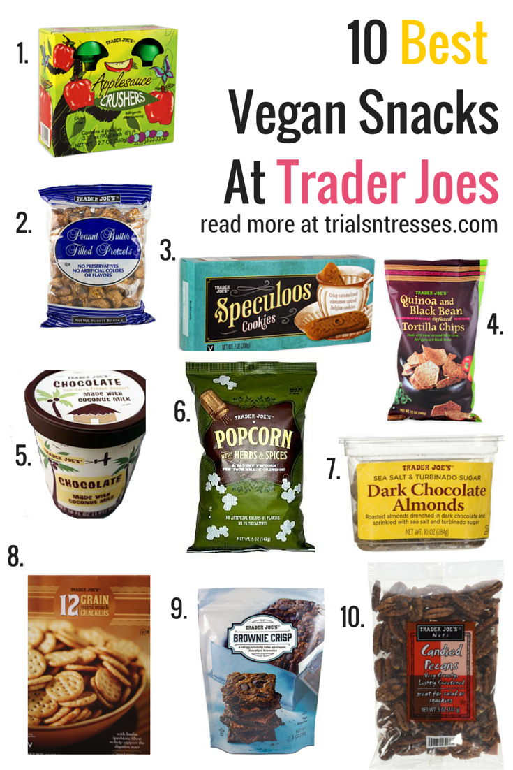 Photo of 10 productos saludables para comprar en Trader Joes