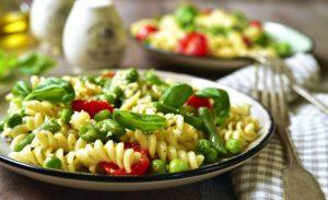 5 Ensalada de huevo vegetariana