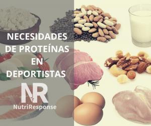 Atletas y proteínas: ¿Cuánto es suficiente?