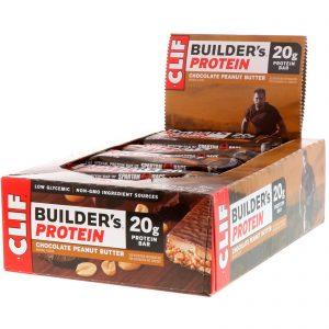 Barra de granola Clif Crunch para un refrigerio post-entrenamiento