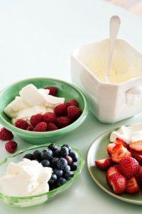 Cómo hacer crema batida baja en carbohidratos