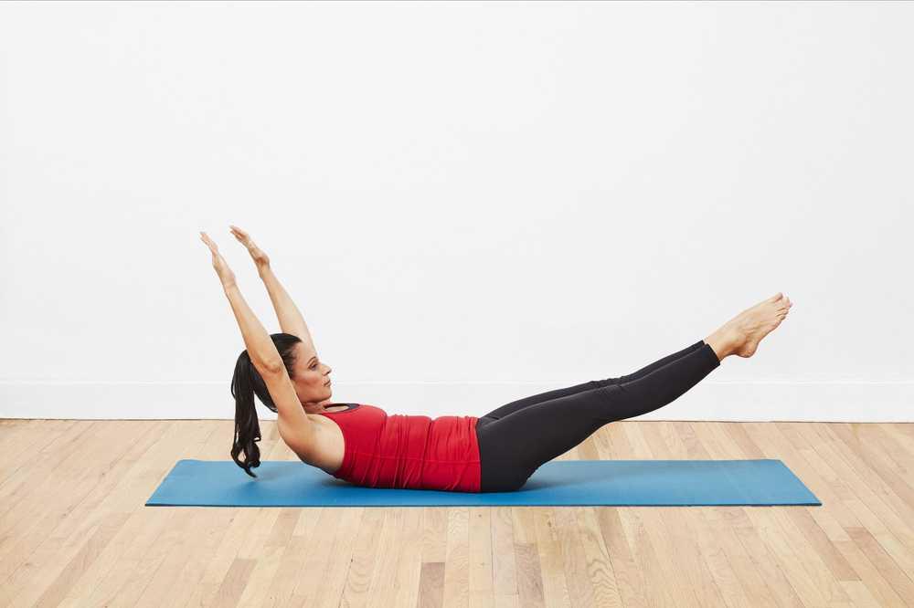 Photo of Cómo hacer el estiramiento de Pilates con una sola pierna