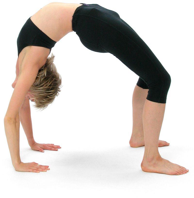 Photo of Cómo hacer la postura de la rueda (Urdhva Dhanurasana) con seguridad