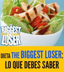 ¿Cuál es la dieta del mayor perdedor?