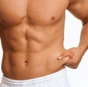 Cuando debería preocuparse por sus rollos de grasa de la barriga