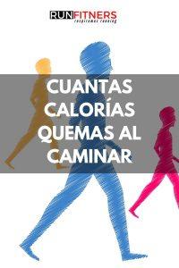 ¿Cuántas calorías puedes quemar mientras caminas?