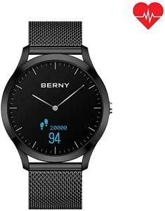 El elegante reloj de podómetro con analógico de cuarzo es el Timex Metropolitan Plus
