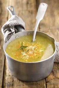 Guías calóricas para comprar sopas saludables en lata