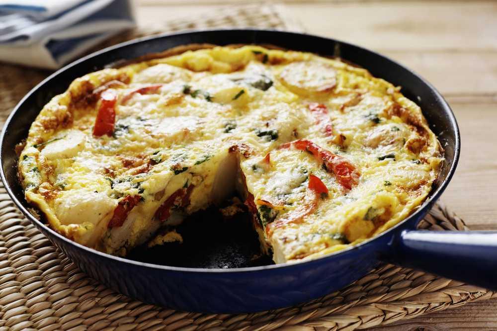 Photo of Hacer una frittata es fácil y naturalmente bajo en carbohidratos