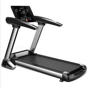 Haga un ejercicio de ritmo cardíaco en la cinta de correr