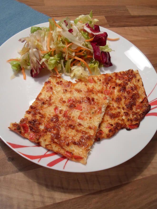 Photo of Ideas y recetas deliciosas para una pizza baja en carbohidratos