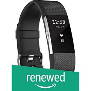 La carga de Fitbit HR rastrea su ritmo cardíaco sin una correa