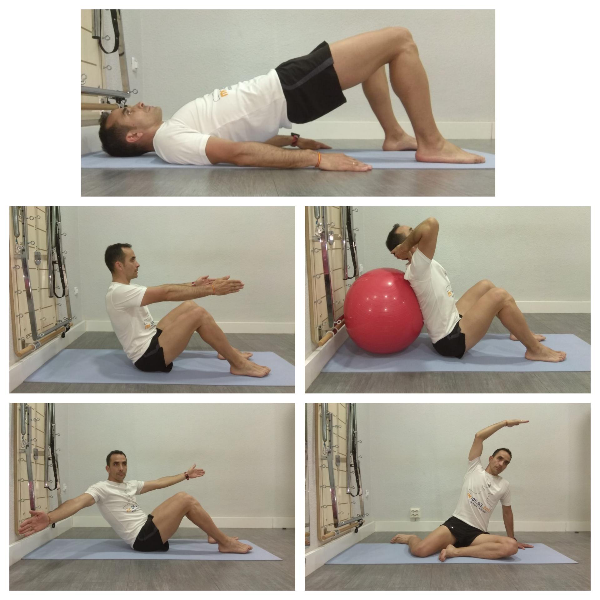 Photo of La inclinación de la cabeza de Pilates es el primer movimiento de muchos ejercicios de Pilates