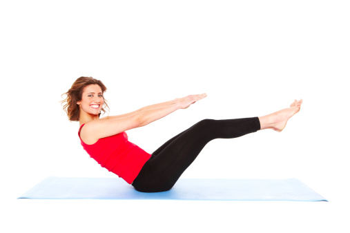 Photo of La posición de las piernas en Pilates puede tonificar los abdominales