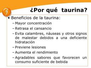 Los beneficios y usos de la taurina