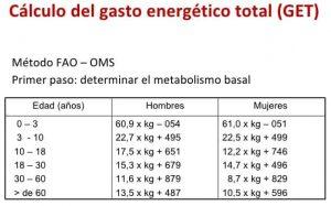 Por qué las calorías necesarias para los hombres y las mujeres son diferentes
