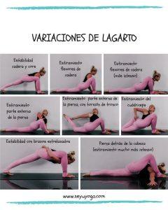Pose de lagarto (Utthan Pristhasana) en el Yoga