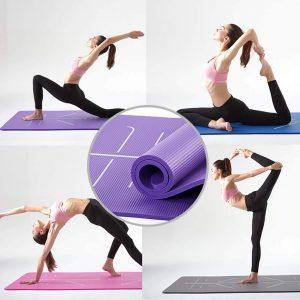 ¿Puedes aprender yoga usando una alfombrilla de alineación?