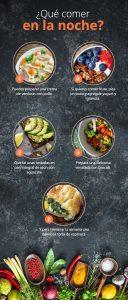 ¿Qué es la dieta nocturna?