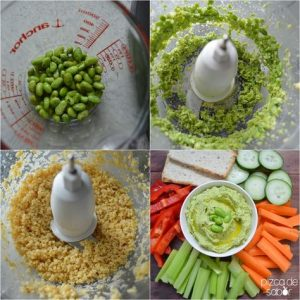 Versátil receta de Edamame glaseado para los bocadillos después de la escuela